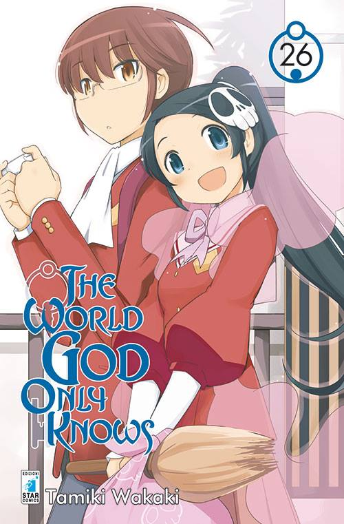 The World God Only Knows Cover volume 26 ITA